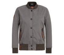 Female Jacket U like dirty braun / grau