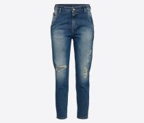 Destroyed Jeans 'Fayza-Evo' 084Xt blau