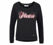 Jeans Sweatshirt schwarz