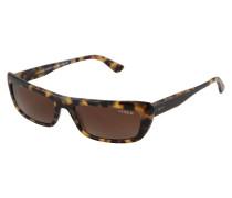 Sonnenbrille 'bella' braun / gelb