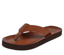 Slipper 'Beach Sandal' cognac