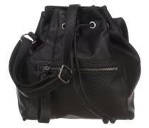 Tasche 'Fortuna Saddle' schwarz