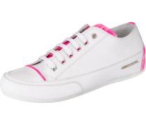 Sneakers Low dunkelpink / weiß