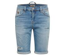 Jeansshorts 'lance' blue denim