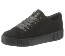 Sneaker dunkelgrau / schwarz / silber