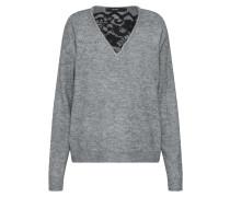Pullover rauchgrau / schwarz