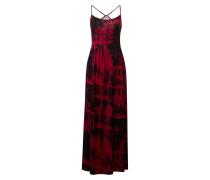 Kleid merlot / schwarz