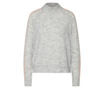 Pullover hellgrau / rosa