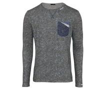 Pullover 'kai' schlammfarben