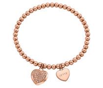 Armband 'MY Love' rosegold