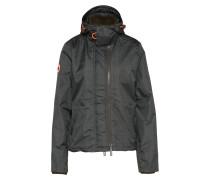 Funktionsjacke 'print Hood Arctic' khaki