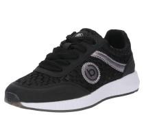 Sneaker 'Pump' schwarz / weiß