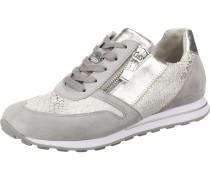 Sneakers grau / silber / weiß