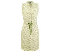 Kleid pastellgelb / hellgrün / weiß