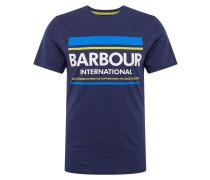 Shirt blau / mischfarben
