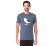 T-Shirt 'Gull 3' taubenblau