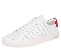 Sneaker 'court' weiß