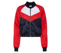 Jacket navy / rot / weiß