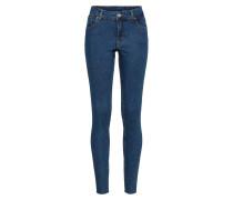 Skinny Jeans 'Mid Skin' blau