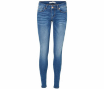 Stretch-Jeans 'lux' blue denim