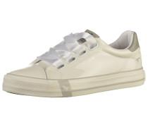 Sneaker silber / perlweiß