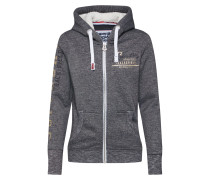 Sweatjacke 'track & Field Borg Ziphood'
