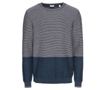 Pullover 'struct.stripe c' navy