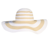 Hut 'packable Striped Sunhat'
