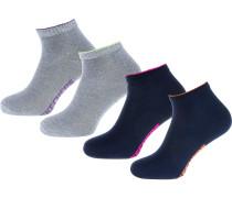 Socken nachtblau / grau