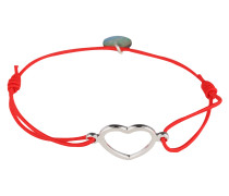 Armband 'True Love' rot / silber