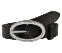Ledergürtel 'b01' schwarz