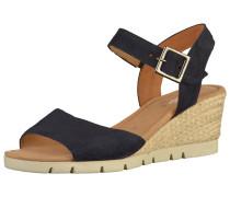 Sandalen hellbeige / nachtblau