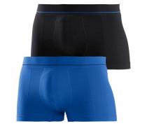 Boxer Short (2 Stück) blau / schwarz
