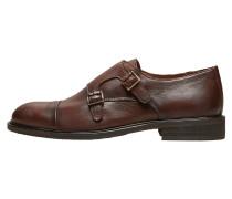 Leder Schuhe braun