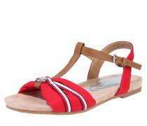 Sandalen 'Sandale' rot / braun