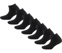 7 Paar Socken schwarz