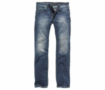 Straight-Jeans »Ni:co:r611« blau