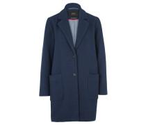Mantel MIT Reverskragen blau