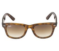 Sonnenbrille 'Wayfarer' braun