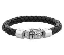 Armband 'Basic' schwarz / silber