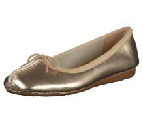 Ballerina 'Freckle ice' aus Leder gold