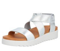Sandale 'ss20-Deia' silber