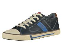 Sneaker navy / braun / weiß
