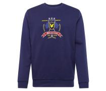 Sweatshirt 'Crest' navy
