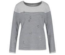 Pullover nachtblau / grau