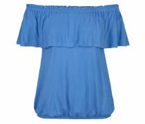 Strandshirt royalblau