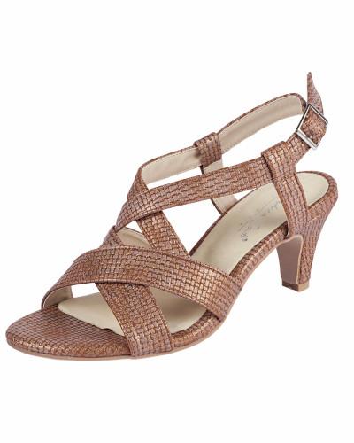 Sandalette bronze