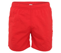 Badehose 'Scope' rot / weiß