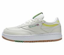 Sneaker neongelb / weiß / grün
