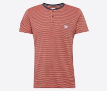 T-Shirt 'Henl stripe ss' koralle
